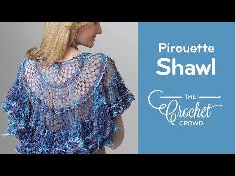 Crochet Sashay Shawl Youtube