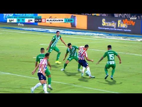 Nacional vs Junior (2-2) Liga Aguila 2019-II | Cuadrangulares fecha 3
