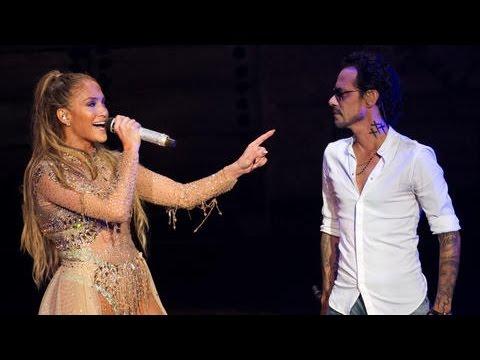 "Jennifer Lopez & Marc Anthony ""Olvidame Y Pega La Vuelta"" Live Perform At Dominican Republic 2017"