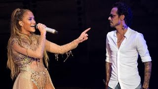 Скачать Jennifer Lopez Marc Anthony Olvidame Y Pega La Vuelta Live Perform At Dominican Republic 2017