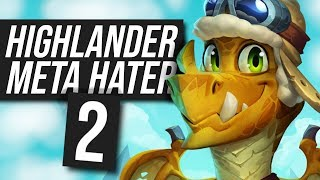 Meta Hater Highlander Paladin! #2 - Slight Changes | Standard | Hearthstone