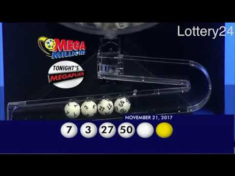 2017 11 21 Mega Millions Numbers and draw results