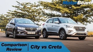 Honda City vs Hyundai Creta - Which Car For Rs. 15 Lakhs? | MotorBeam