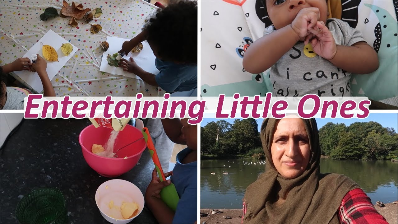 Download Entertaining Little Ones | Day In My Life | Mum of 7 | Shamsa