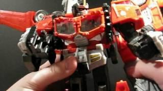 Transformers Cybertron Galaxy Force Optimus Prime Part 2