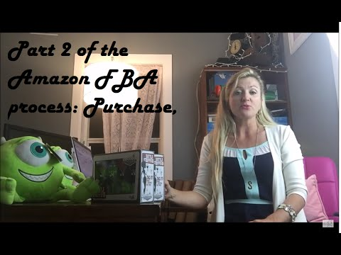 Part 2 of the Amazon FBA process: Purchase, list and ship