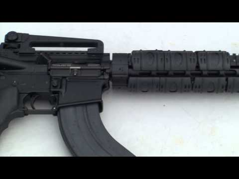 LA-15 Rifle Luvo Arms (Czech AR-15) 7,62x39mm Shooting - G's HD Gun Show