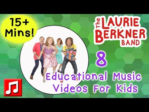 """15+ Min! """"This Is How I Do It"""" By The Laurie Berkner Band - Plus Lots More Educational Kids Songs"""