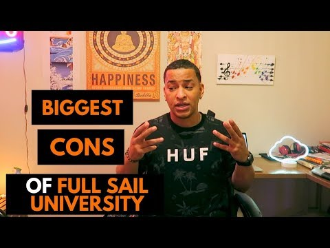 BIGGEST CONS of Full Sail University Music Production!