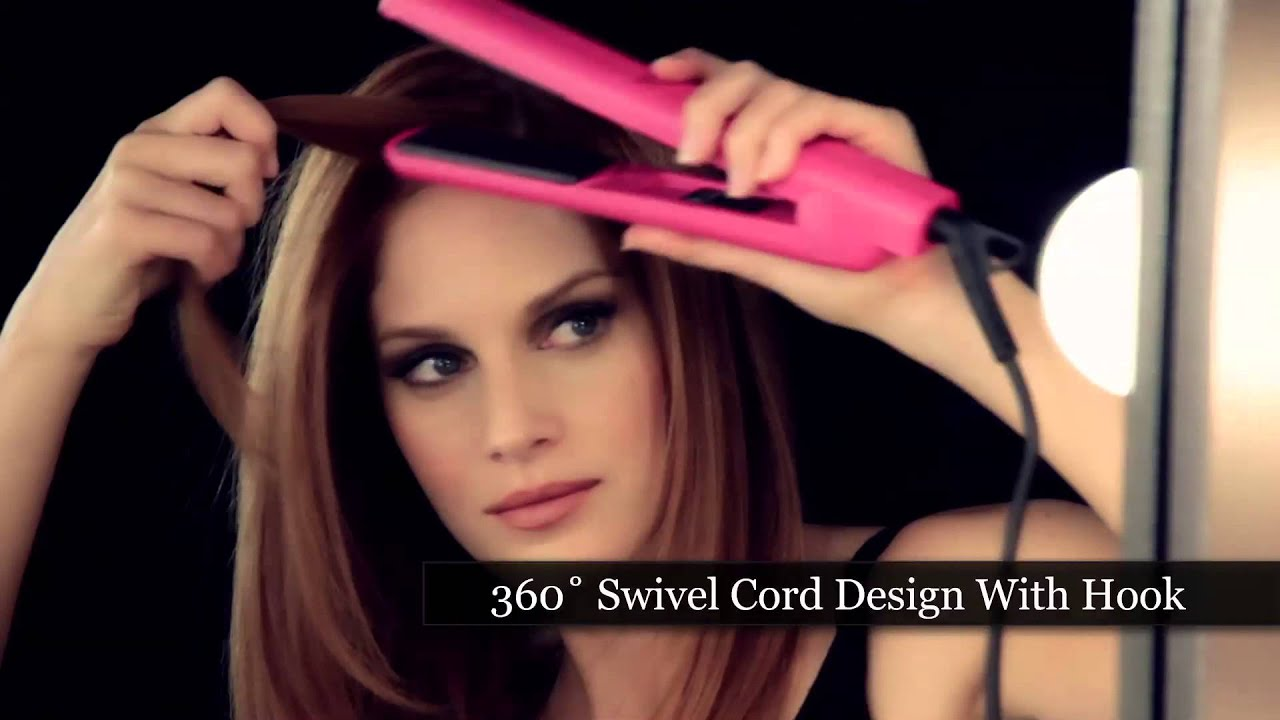 Jose Eber 100 Ceramic 1 25 Quot Flat Iron Youtube