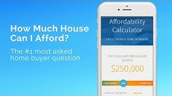 "Wondering ""How Much House Can I Afford""? Use A True Mortgage Affordability Calculator"