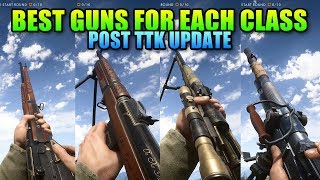 Battlefield 1 Best Guns For Each Class - Post TTK Update