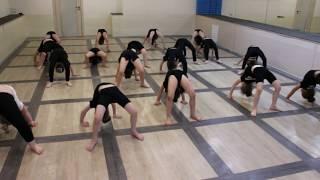 Видео-урок (II-семестр: май 2017г.) - филиал Червишевский, группа 4-6 лет, Детская Шоу-хореография