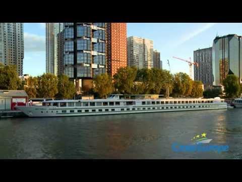 Seine River Cruises- on a Croisieurope ship