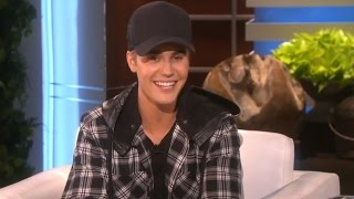 Justin's most wtf moments ►► https://youtu.be/l59_dnrqabe more celebrity news http://bit.ly/subclevvernews ellen degeneres asks justin bieber if his new t...