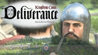 Kingdom Come Deliverance Gameplay - Tech Alpha 0.1 - Bow Quest/Archery