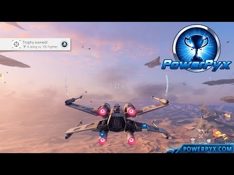 Star Wars Battlefront 2 - X-wing vs. TIE Fighter Trophy / Achievement Guide