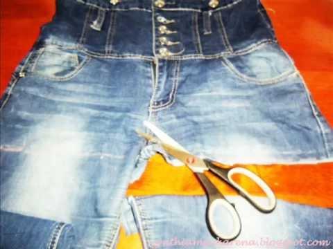 Como confeccionar un bolso con un jeans
