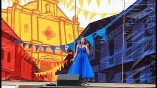 Jessica Zemanek Sings at Seattle's Pista Sa Nayon 2015