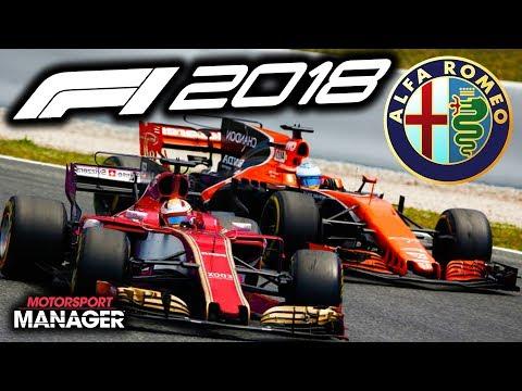 F1 2018 Alfa Romeo Manager Career: MCLAREN FIGHT BACK - Part 12
