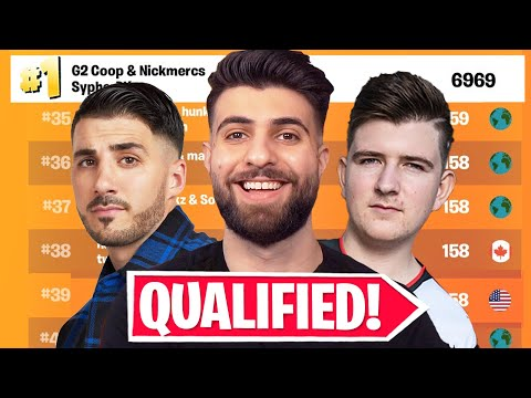 WE QUALIFIED FOR TRIO FNCS! ft. Nickmercs, G2 Coop