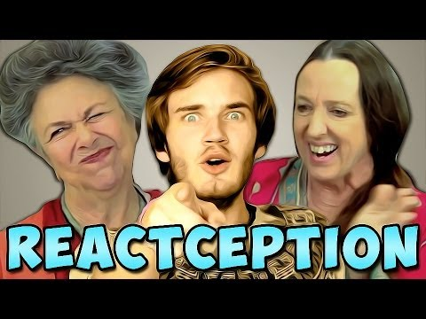 Thumbnail: PewDiePie Reacts To: Elders React To: PewDiePie... | PewDiePie