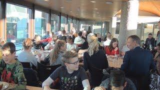 Kinderondbijt 2018  bij de Gemeente Zwolle