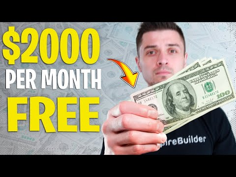 How To Make Money Online For FREE In 2019! ($2000+ Per Month Minimum)