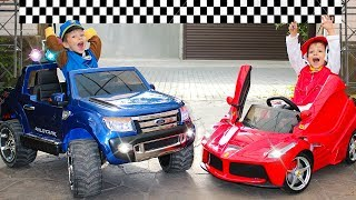 Artem ride on toy racing cars power wheels