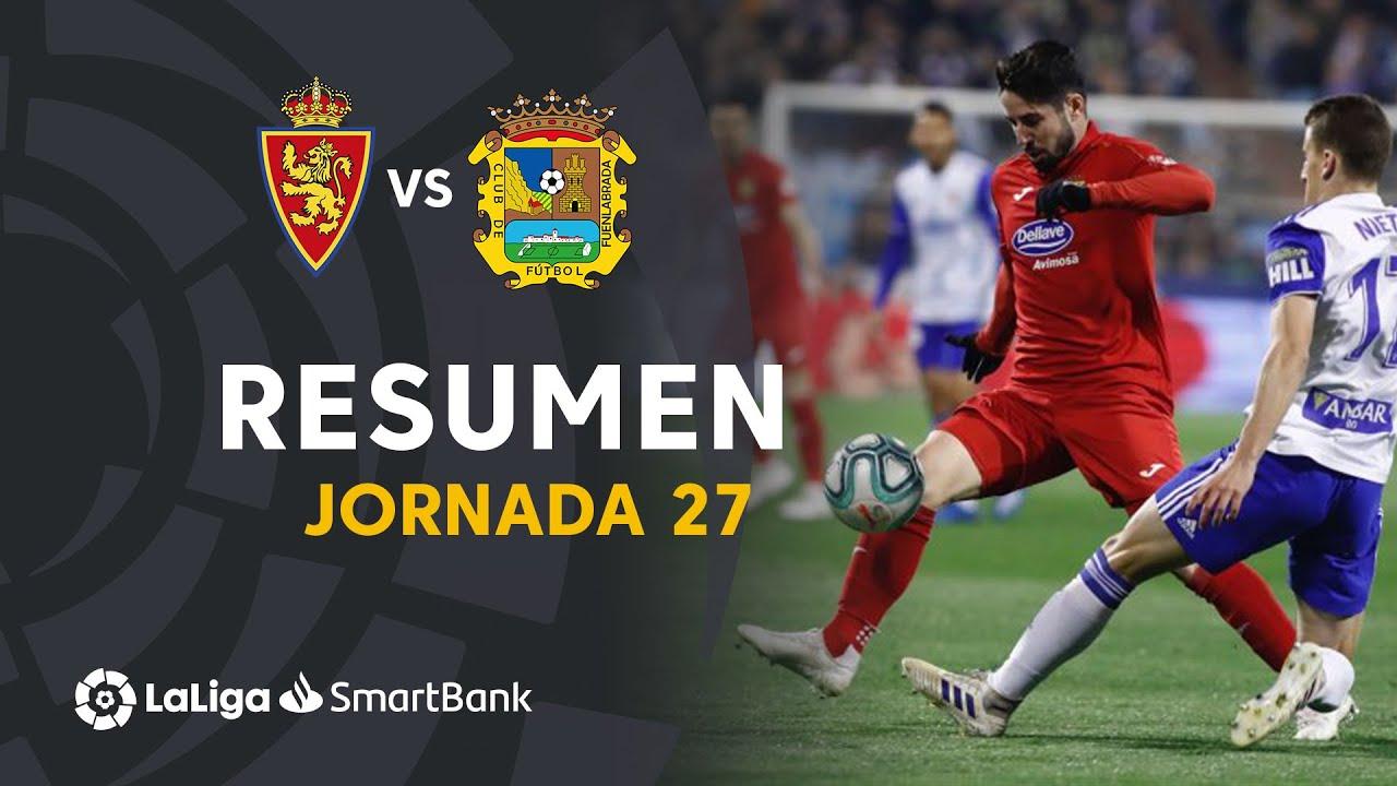 Сарагоса  0-0  Фуэнлабрада видео