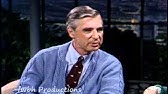 Fred Rogers Inducted Into The Tv Hall Of Fame Youtube