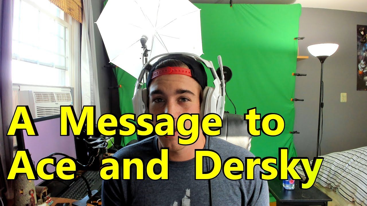 Ace and Dersky talked shit about one of my videos!? - -