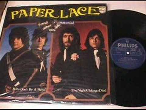 Paper Lace Greatest Hits.