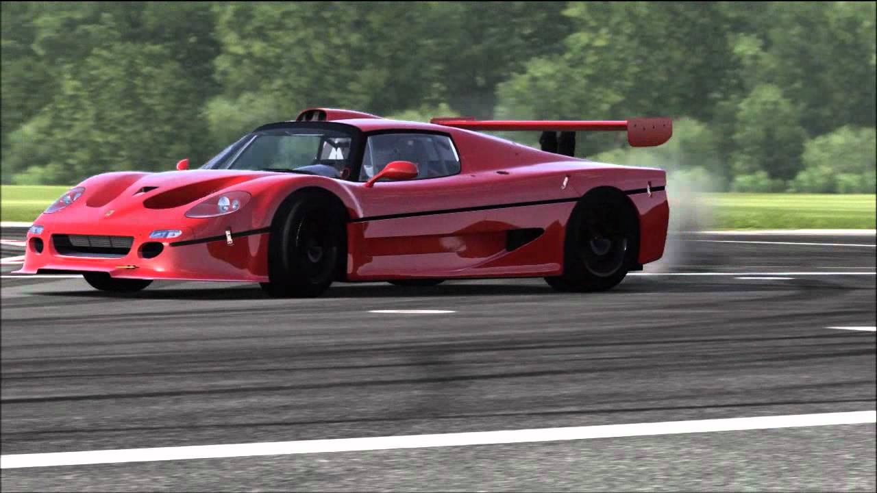 (HD) - Forza 4 - Top Gear - Car Test - 1996 Ferrari F50 GT - YouTube b04d1e0436b7