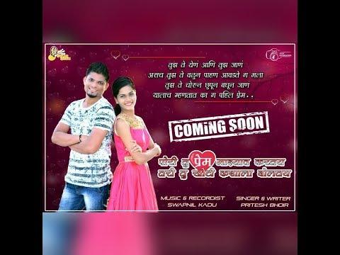 Pori Tu Prem Majhyav Karat Tari Tu Khoti Kashala Bolat Promo Song By Pritesh Bhoir