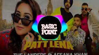 Gambar cover Tainu Patt Lena【BASS BOOSTED】- The Landers Ft. Afsana Khan | New Punjabi Song 2020 | X Productions