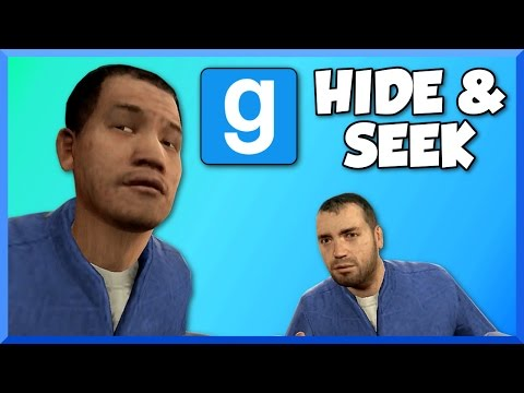 Gmod Hide and Seek Funny Moments - Flying Glitch and Funny Faces (Garrys Mod Funtage & Fails)