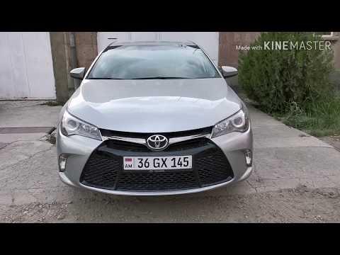 Авто из Армении, Toyota Camry 2015г, 66000км, 14700$