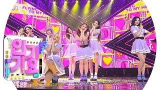 Fromis_9(프로미스나인) - LOVE RUMPUMPUM @인기가요 Inkigayo 20190714