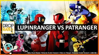 'Lupinranger vs Patranger' | Taiko no Tatsujin: Nintendo Switch Version! 太鼓の達人