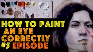#5 Part How to paint a portrait with oil colours by Gianluca Rotelli