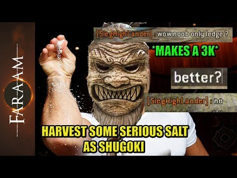 Harvest a serious amount of Salt as Shugoki [For Honor]