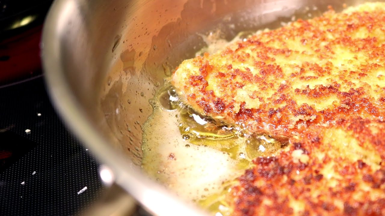 Crispy Chicken Parm Youtube