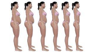 Sie hielt sich nur an diese 7 Dinge und verlor ihr gesamtes Fett in wenigen Tagen natürlich!!