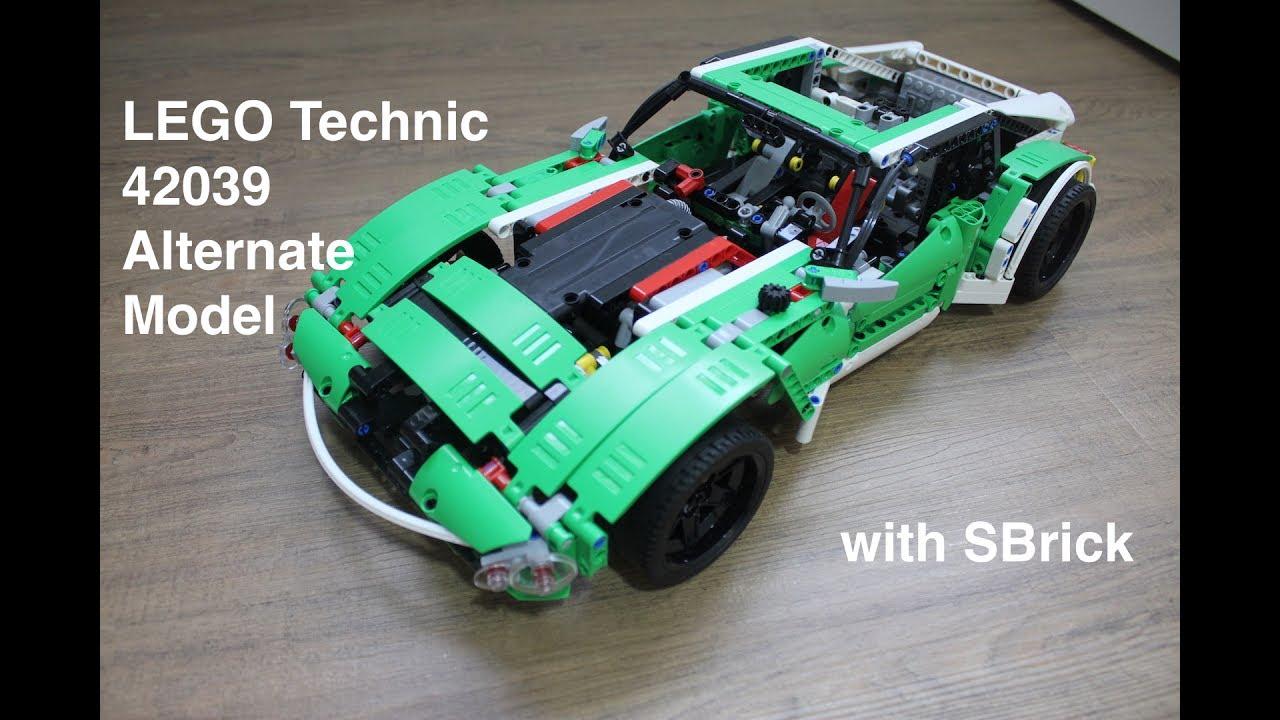 Lego Technic 42039 Model X with SBrick - YouTube