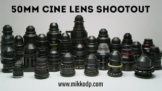 50mm Shootout - 26 Anamorphic and Spherical lenses - Part2
