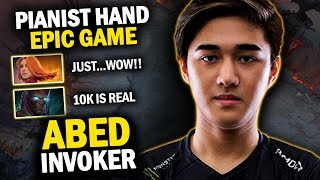 YOU WILL BE SURPRISED TO SEE THIS!! ABED INVOKER EPIC GAMEPLAY 10K IS REAL - DOTA 2 INVOKER