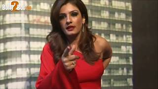 Repeat youtube video Sexy Raveena Tandon Abusing Media