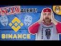 Binance Exposed: P&Ds, Extortion, Bribes Stop Using Binance! $BNB