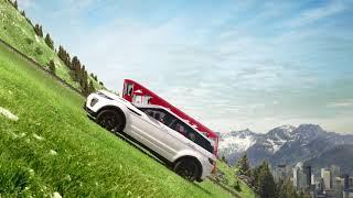 Land Rover Evoque leo dốc đứng cực đỉnh